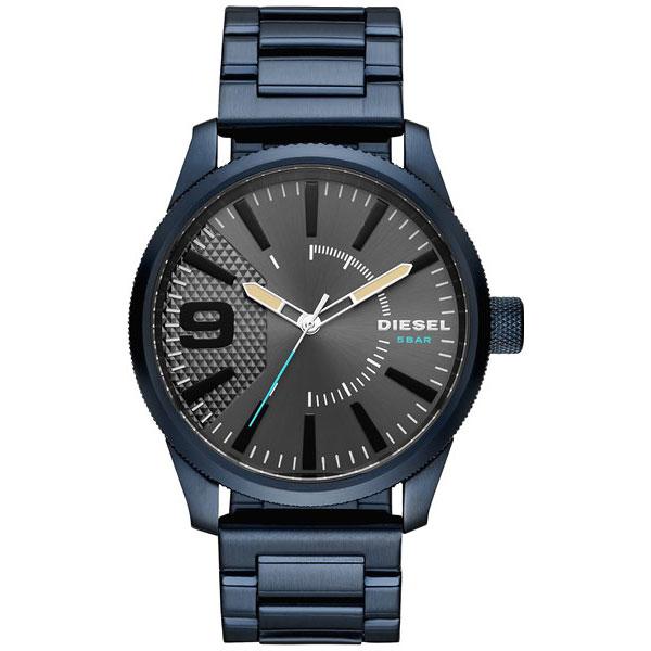 【送料無料】ディーゼル 時計 DIESEL 腕時計 DZ1872 メンズ 男性用 Rasp ラスプ グレー×ブルー とけい ウォッチ【あす楽対応】【ブランド】【プレゼント】【セール】