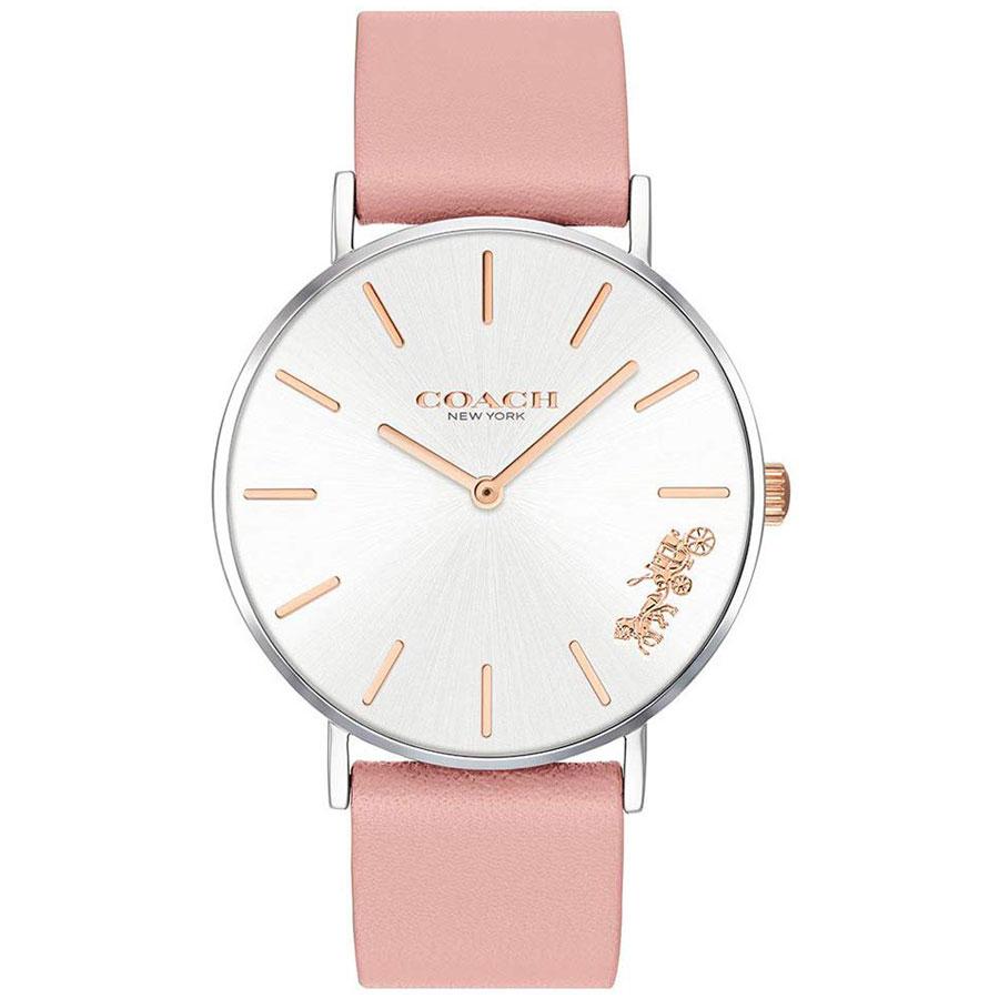 【送料無料】COACH コーチ レディース 腕時計 時計 14503258 Perry ペリー シルバー×ピンク こーち とけい 【あす楽対応】【プレゼント】【ブランド】
