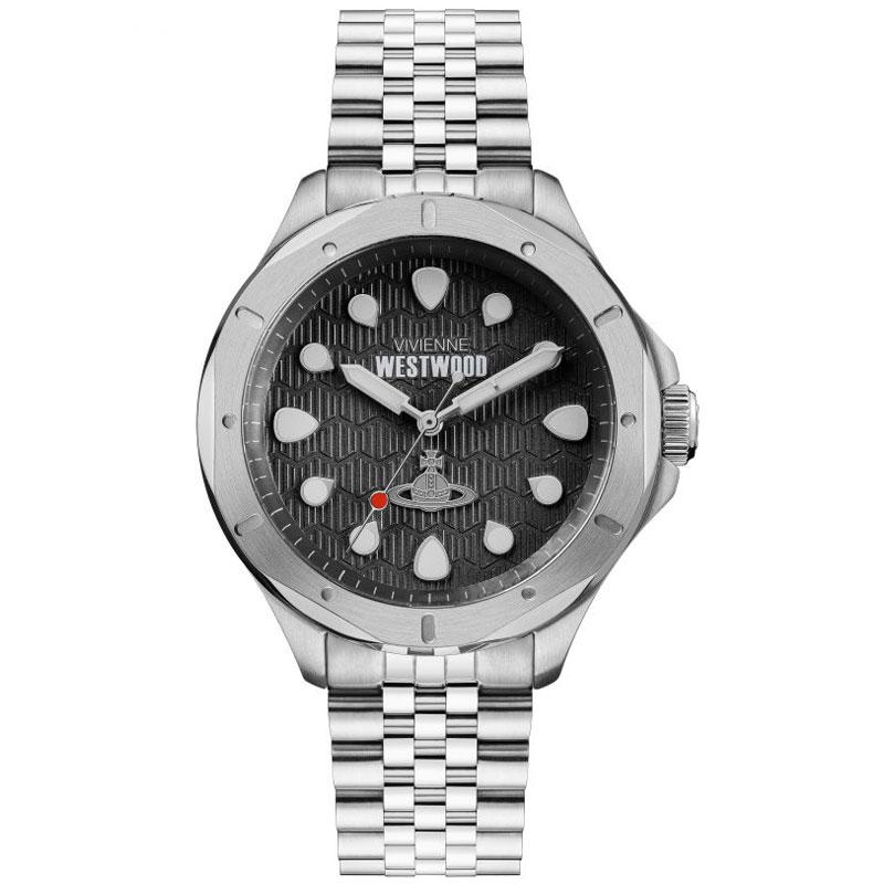 【送料無料】Vivienne Westwood ヴィヴィアン ウエストウッド メンズ 腕時計 時計 VV219SL BLACKWALL ブラック×シルバー とけい ビビアン【あす楽対応】【プレゼント】【ブランド】【ラッキーシール対応】【セール】