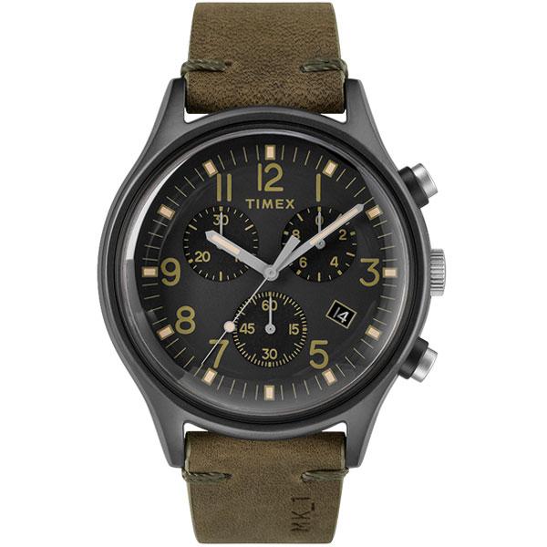 【送料無料】TIMEX タイメックス 腕時計 時計 メンズ TW2R96600 MK1 エムケーワン クロノグラフ ブラック×カーキ とけい【あす楽対応】【ブランド】【プレゼント】【ラッキーシール対応】【セール】