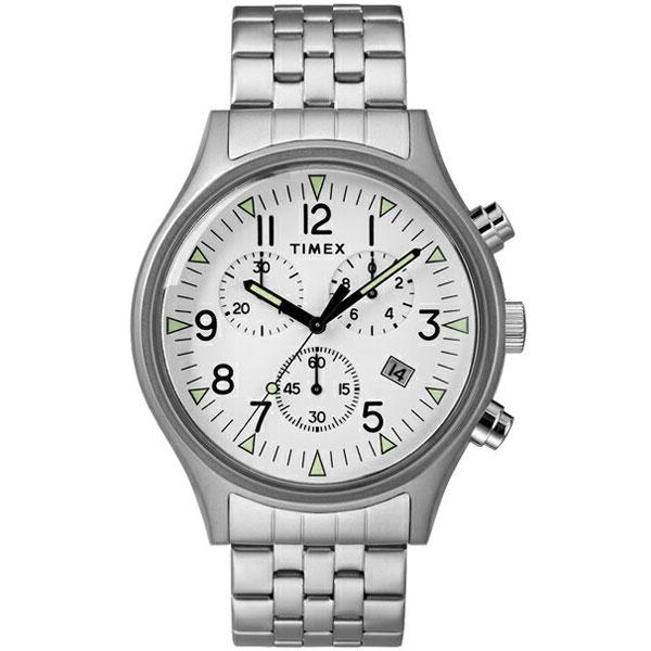【送料無料】TIMEX タイメックス 腕時計 時計 メンズ TW2R68900 MK1 エムケーワン クロノグラフ ホワイト×シルバー とけい【あす楽対応】【ブランド】【プレゼント】【ラッキーシール対応】【セール】