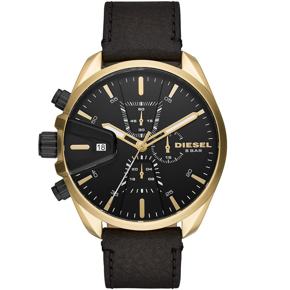【送料無料】ディーゼル 時計 DIESEL 腕時計 DZ4516 メンズ MS9 CHRONO エムエスナイン クロノグラフ ブラック×ゴールド とけい ウォッチ 【あす楽対応】【プレゼント】【ブランド】