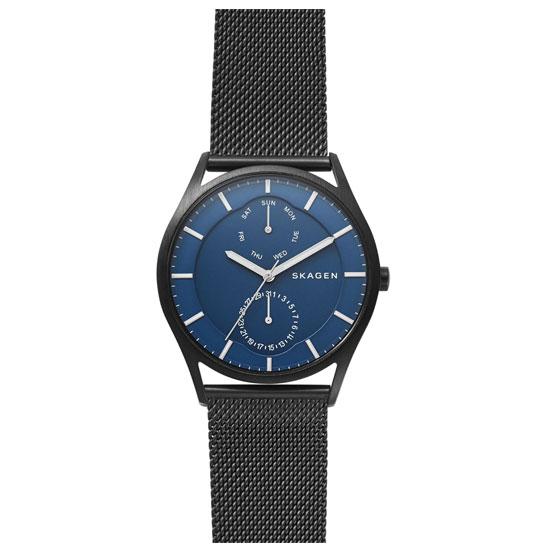 【送料無料】SKAGEN スカーゲン メンズ 腕時計 SKW6450 HOLST ホルスト 時計 男性用 ネイビー×ブラック【あす楽対応】【プレゼント】【ブランド】【ラッキーシール対応】【セール】