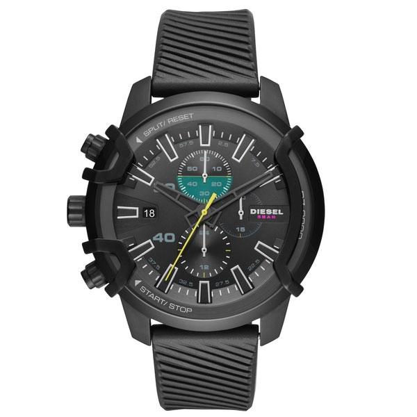 【送料無料】ディーゼル 時計 DIESEL 腕時計 DZ4520 メンズ Griffed グリフド クロノグラフ オールブラック とけい ウォッチ 【あす楽対応】【プレゼント】【ブランド】