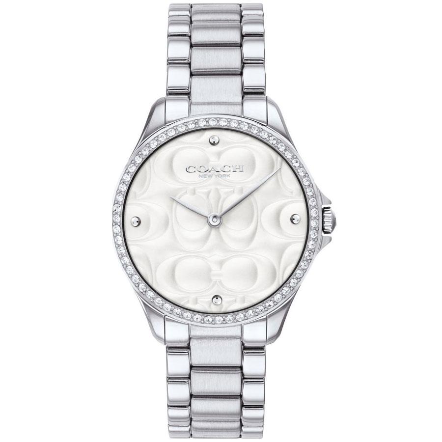 【送料無料】COACH コーチ レディース 腕時計 時計 14503070 シルバー こーち【あす楽対応】【プレゼント】【ブランド】【セール】