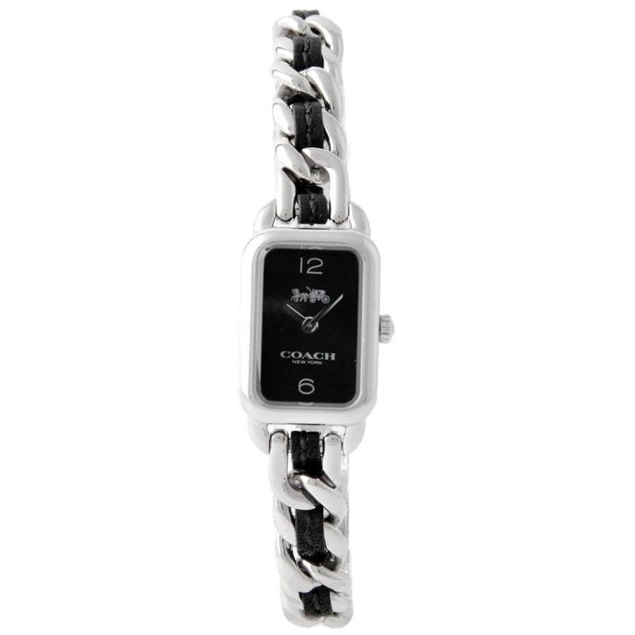 【送料無料】COACH コーチ レディース 腕時計 時計 14502748 ラドロー ブラック×シルバー こーち【あす楽対応】【プレゼント】【ブランド】【ラッキーシール対応】【セール】