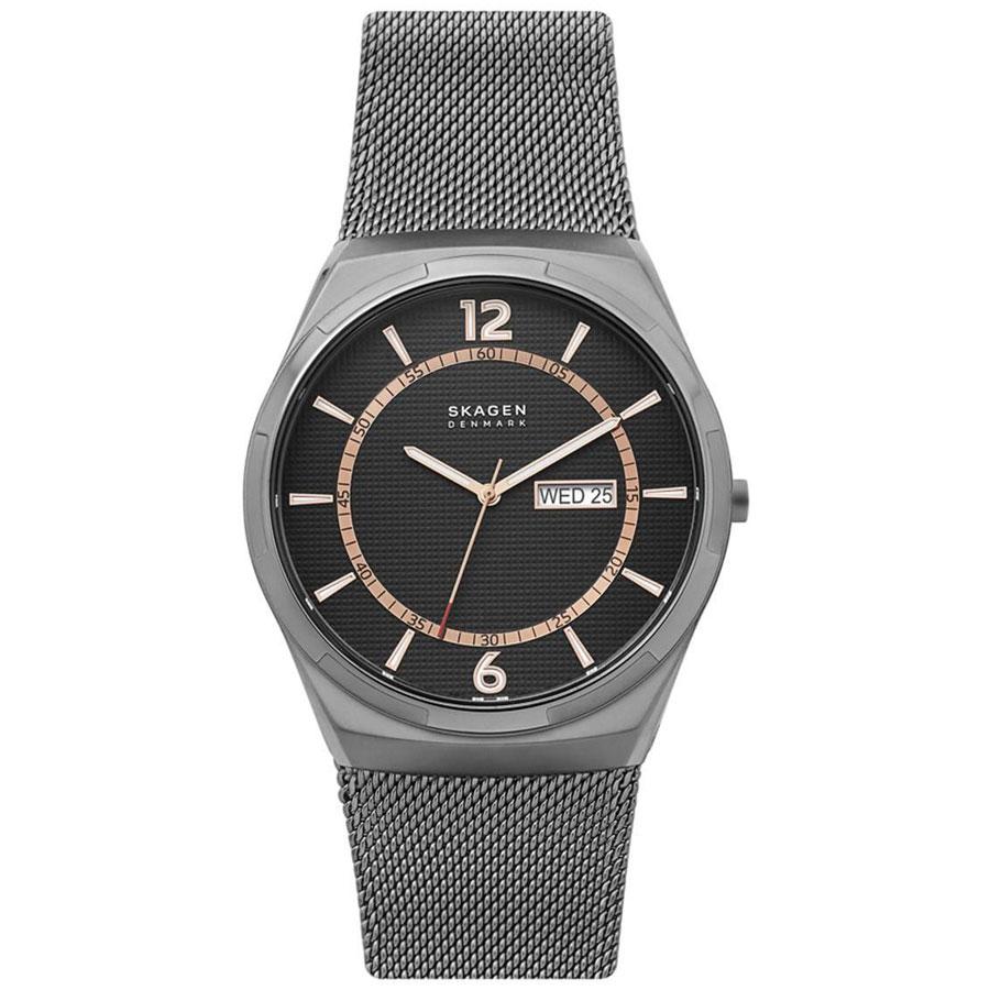 【送料無料】SKAGEN スカーゲン メンズ 腕時計 SKW6575 MELBYE メルビー 時計 男性用 ブラック×ピンクゴールド×ガンメタル【あす楽対応】【プレゼント】【ブランド】【セール】