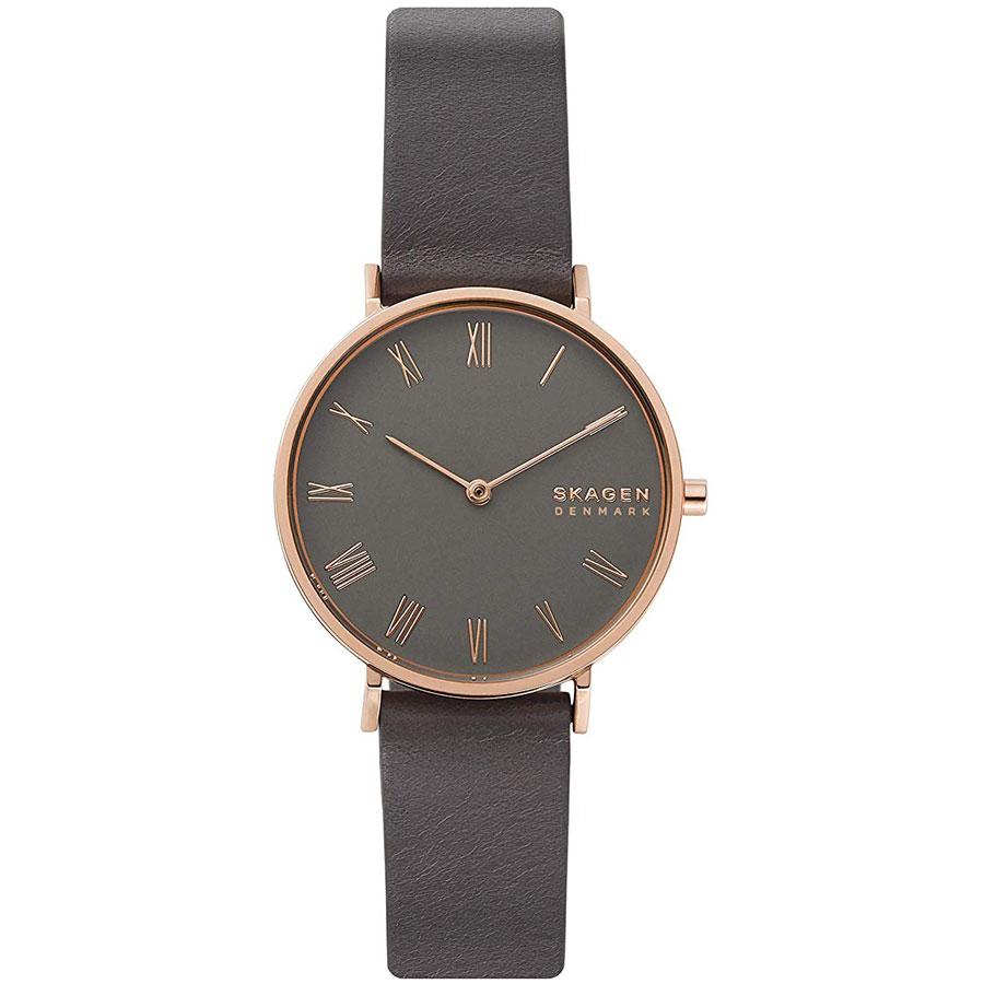 【送料無料】SKAGEN スカーゲン レディース 腕時計 SKW2816 HALD ハルド 時計 女性用 グレー×ピンクゴールド【あす楽対応】【プレゼント】【ブランド】【セール】