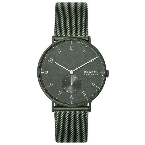 【送料無料】SKAGEN スカーゲン メンズ 腕時計 SKW6534 AAREN アーレン 時計 男性用 ダークグリーン【あす楽対応】【ブランド】【プレゼント】【セール】