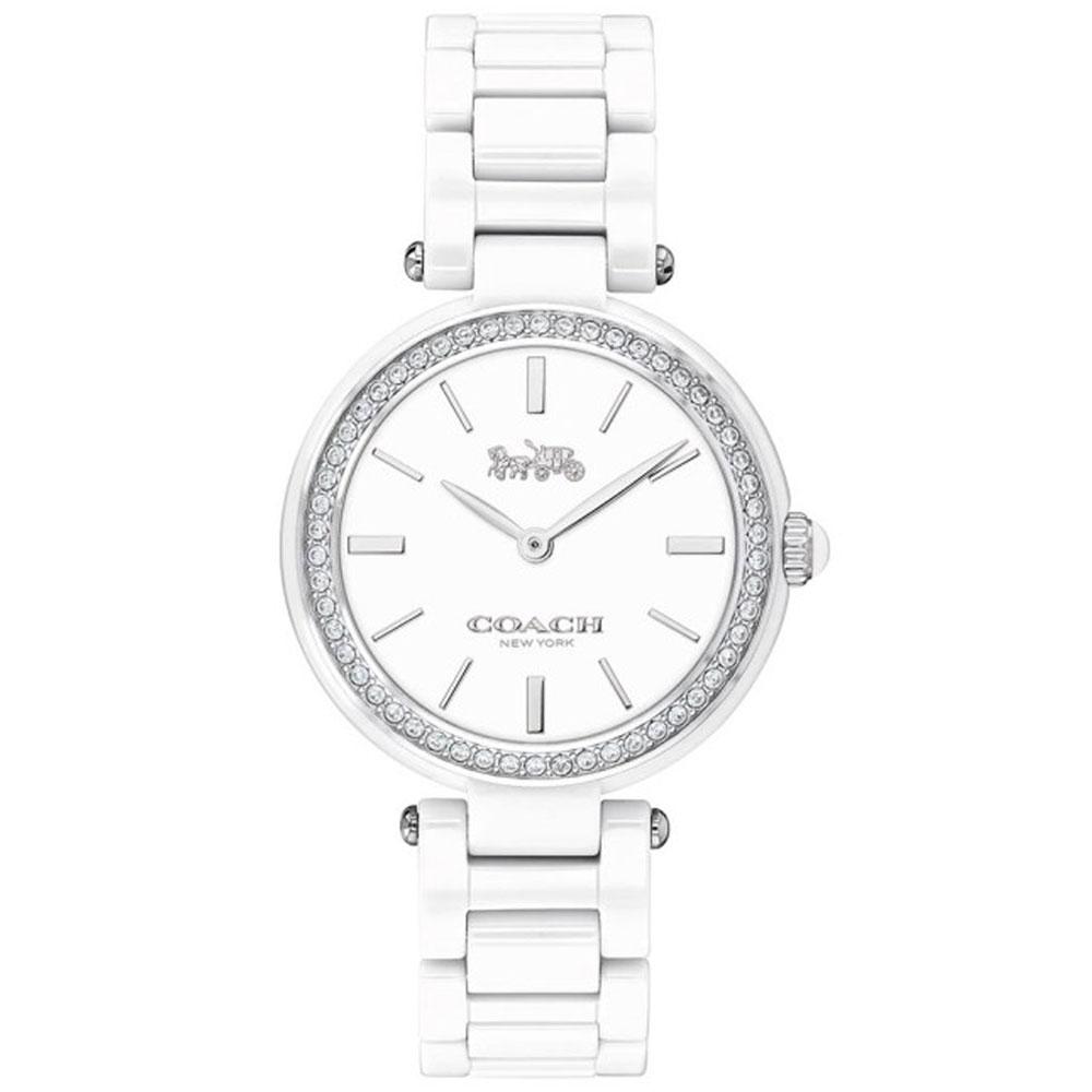 【送料無料】COACH コーチ レディース 腕時計 時計 14503450 セラミック ホワイト こーち【あす楽対応】【プレゼント】【ブランド】【セール】