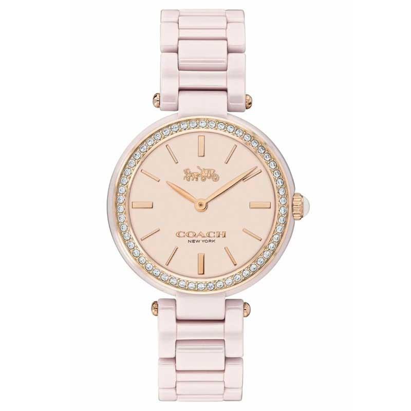 【送料無料】COACH コーチ レディース 腕時計 時計 14503452 セラミック ピンク こーち【あす楽対応】【プレゼント】【ブランド】【セール】