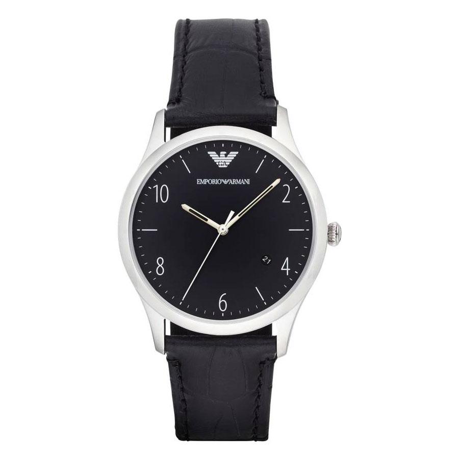 【送料無料】EMPORIO ARMANI エンポリオアルマーニ メンズ 男性用 腕時計 時計 AR1865 ブラック×シルバー エンポリオ・アルマーニ エンポリ アルマーニ【あす楽対応】【プレゼント】【ブランド】