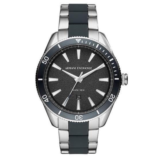 【送料無料】アルマーニ エクスチェンジ AX 時計 ARMANI EXCHANGE メンズ 腕時計 AX1834 ブラック×シルバー×ブルー アルマーニエクスチェンジ【あす楽対応】【プレゼント】【ブランド】