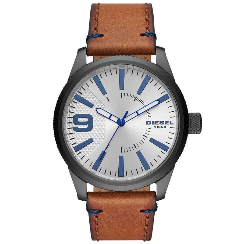 【送料無料】DIESEL ディーゼル 腕時計 時計 メンズ DZ1905 RASP NSBB ラスプ シルバー×ガンメタル×ブラウン【あす楽対応】【プレゼント】【セール】