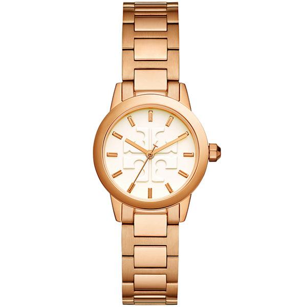 【送料無料】TORY BURCH トリーバーチ レディース 腕時計 時計 TBW2005 アイボリー×ピンクゴールド ウォッチ とけい【あす楽対応】【プレゼント】【ブランド】
