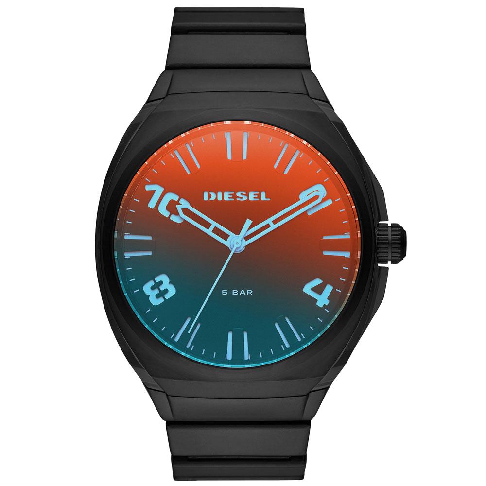 【送料無料】ディーゼル 時計 DIESEL 腕時計 DZ1886 メンズ STIGG スティッグ 偏光ガラス×ブラック ミラー ウォッチ とけい【あす楽対応】【プレゼント】【ブランド】【セール】