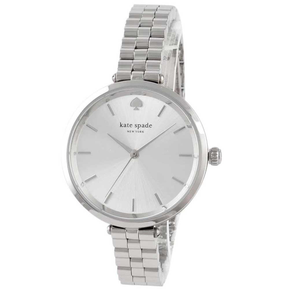 【送料無料】ケイトスペード 腕時計 レディース 時計 kate spade 1YRU0859 Holland ホランド 女性用 シルバー×シルバー【あす楽対応】【プレゼント】【ブランド】【セール】