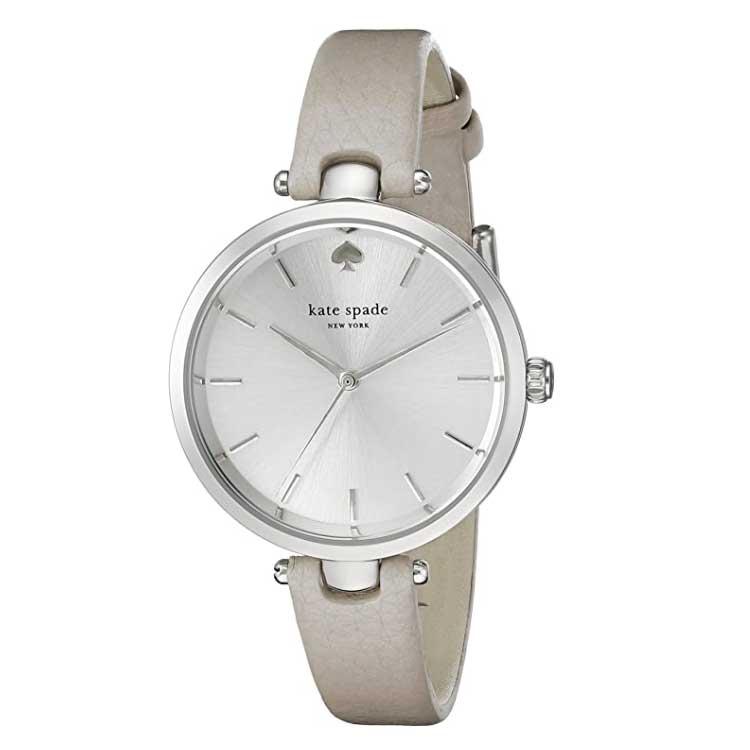 【送料無料】ケイトスペード 腕時計 レディース 時計 kate spade 1YRU0813 Holland ホランド 女性用 シルバー×グレー【あす楽対応】【プレゼント】【ブランド】【セール】