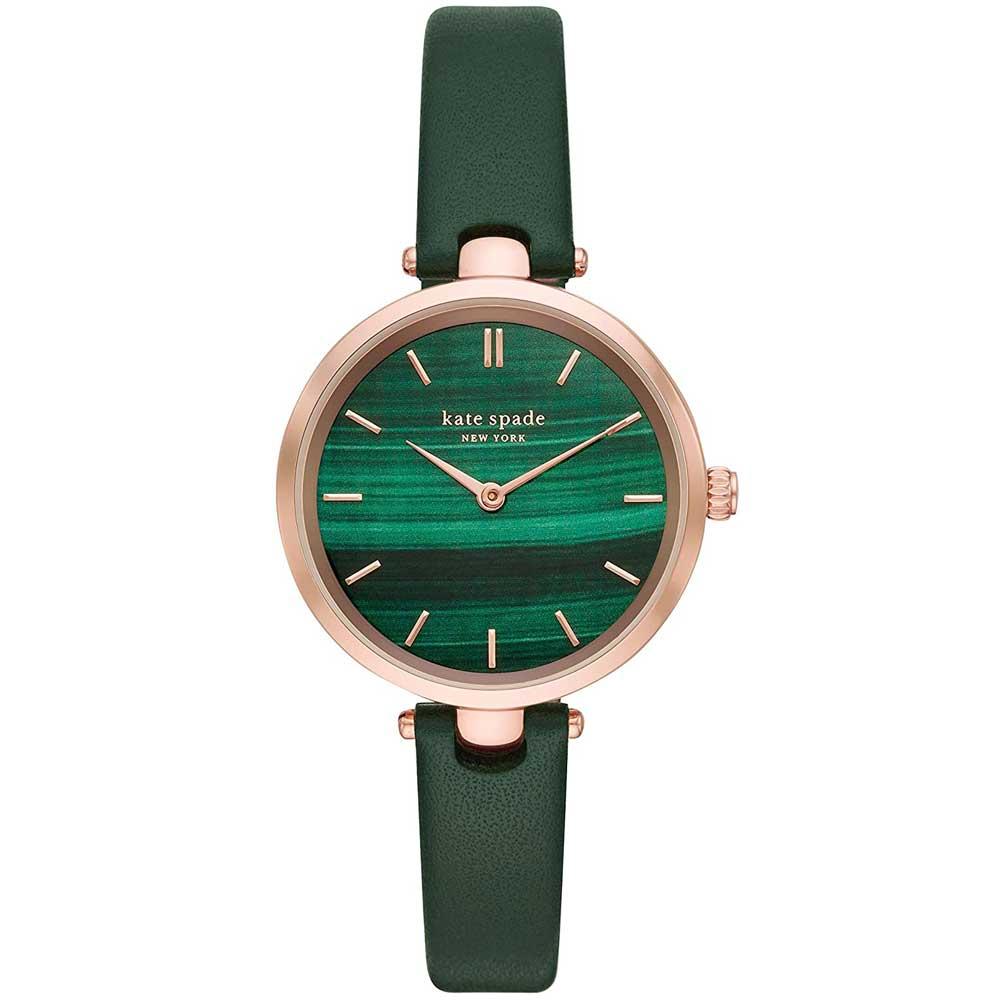 【送料無料】ケイトスペード 腕時計 レディース 時計 kate spade KSW1529 Holland ホランド 女性用 グリーン×ピンクゴールド【あす楽対応】【プレゼント】【ブランド】【セール】