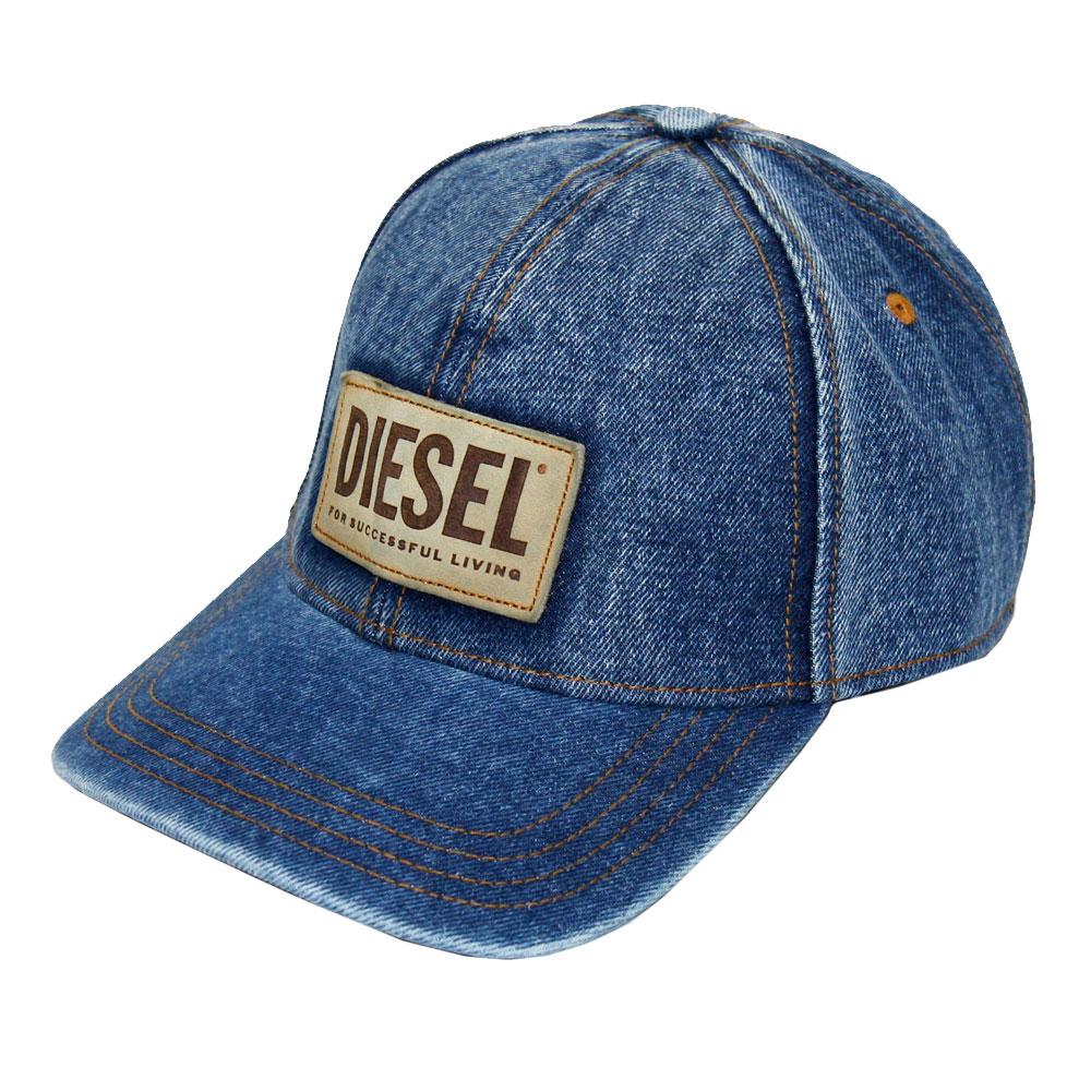 2021秋冬新作 ディーゼル キャップ DIESEL 帽子 デニム ブルー A02748 0PBAL CAPPELLO セール 01 あす楽対応 C-DEN レディース 全品最安値に挑戦 送料無料 割引も実施中 ブランド メンズ