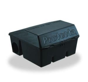 【送料無料】【業務用 殺鼠剤 ボックス】プロテクタベイトステーション 6個入 殺鼠剤 設置 容器 誤食防止 箱