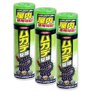 【送料無料】ムカデ ヤスデ 殺虫剤 ムシクリン ムカデ用エアゾール (480ml×24本) 駆除 スプレー