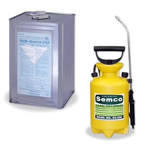 【噴霧器セット】ベルミトール水性乳剤アクア 1缶(18L)+噴霧器GS-006 (1台)