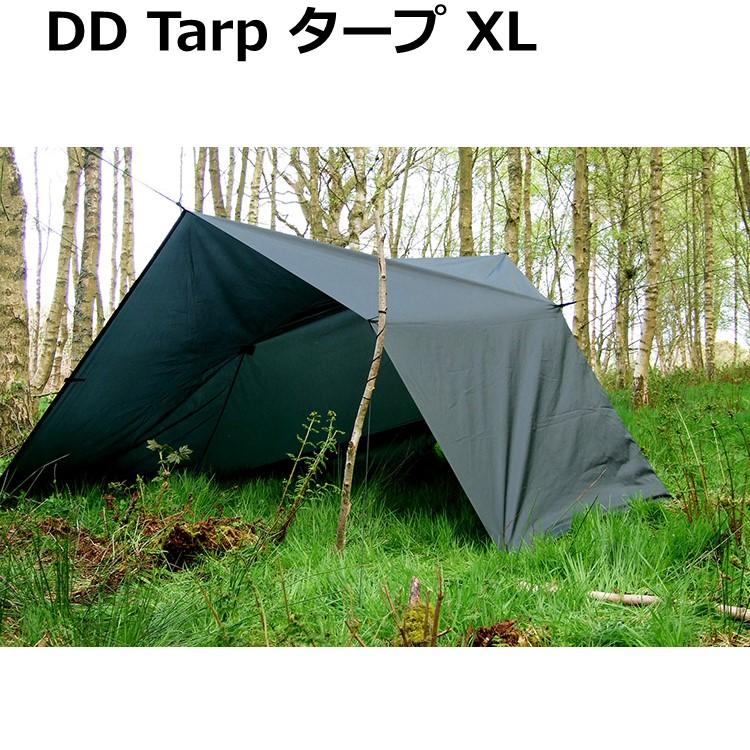 DDタープ 4.5m x 3m 大型 DD Tarp XL オリーブグリーン コヨーテブラウン 多用途 防水