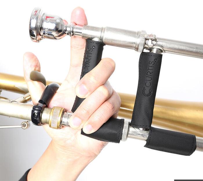 グリップ感に優れています トロンボーン 在庫処分 ハンド ネック ガード Hand 薄型タイプ Guard 日本全国 送料無料 Trombone