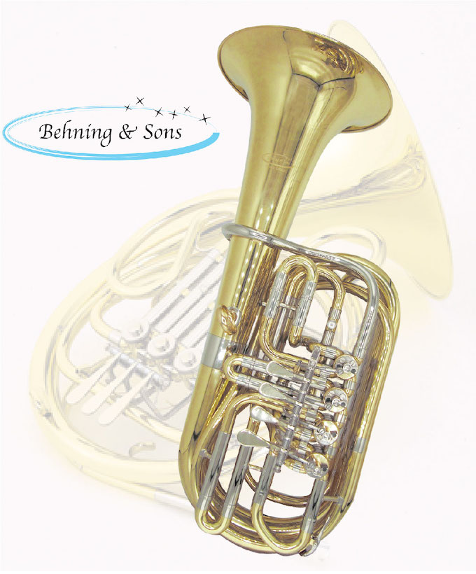 F/E· ミニミニチューバ Behning & Sons ブランド