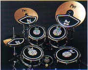 Pearl プラクティスラバーパッド(RPS-50+RP14Cx2,RP14CB,RP18C)Practice Rubber Pad