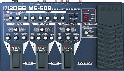 BOSS ME-50B ボス ベース用マルチエフェクター
