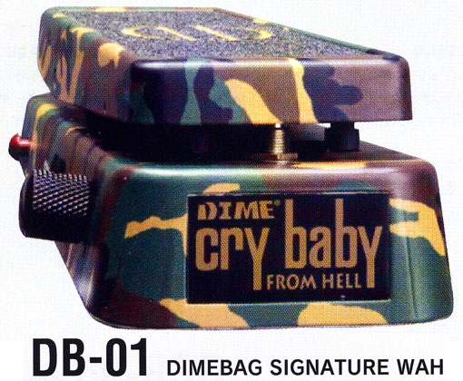 Jim Dunlop DIMEBAG SIGNATURE WAH (DB-01)