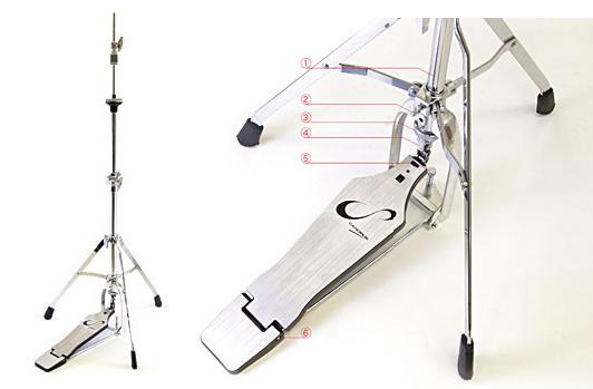CANOPUS CHS-1 Light Weight Hi-Hat Stand カノウプス ハイハットスタンド