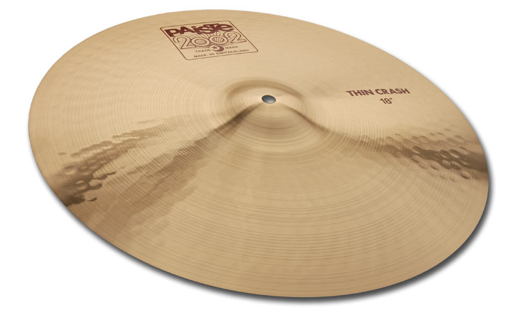 PAISTE「2002」Thin Crash 18""