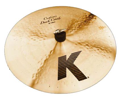 Zildjian K Custom Dark ジルジャン Dark Custom Crash:16