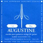 Augustine クラシックギター弦 BLUE を 6セット