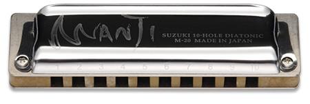 売店 ※定形外郵便で発送します 配達時間の指定はできません Suzuki MANJI G スズキ 期間限定送料無料 ハーモニカ M-20