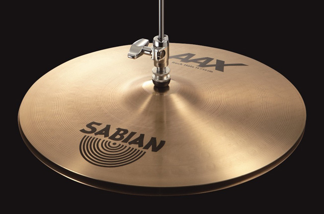 Sabian AAX ROCK HATS 14″ AAX-14TRH セイビアン ハイハット シンバル Top