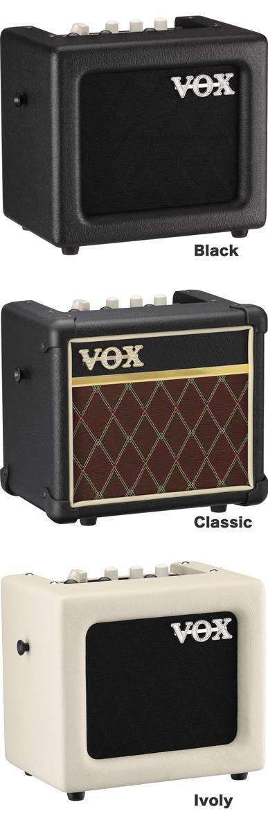 VOX MINI3-G2 ギターアンプ クラシック MINI3-G2-CL