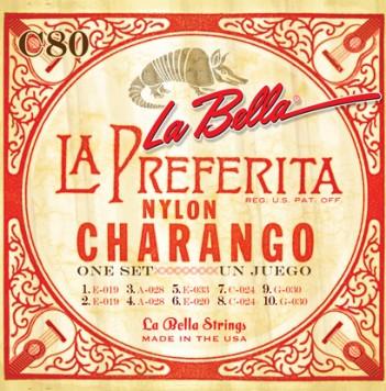 LaBella Charango (チャランゴ) C80 を 6set