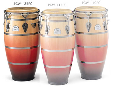 Pearl Folkloric Elite Congas:PCW-125FC(TUMBA 12 1/2
