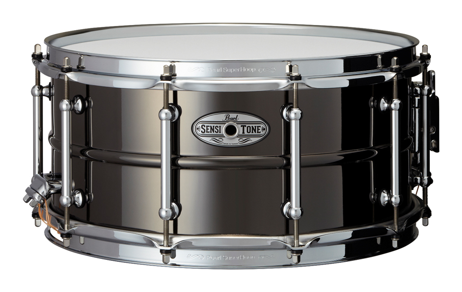 Pearl STA1465BR SensiTone Black-Nickel finish パール スネアドラム