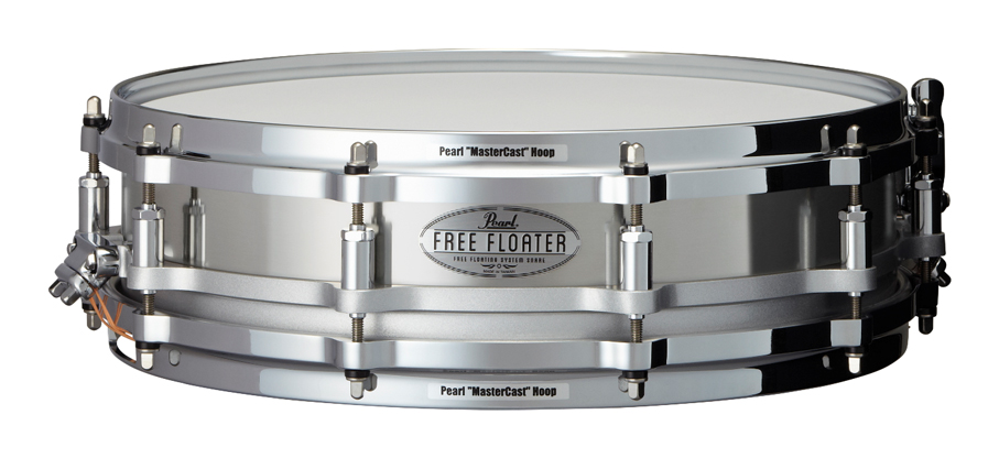 Pearl FTSS1435 Free Floating:Stainless Steel パール スネアドラム ステンレススチールシェル