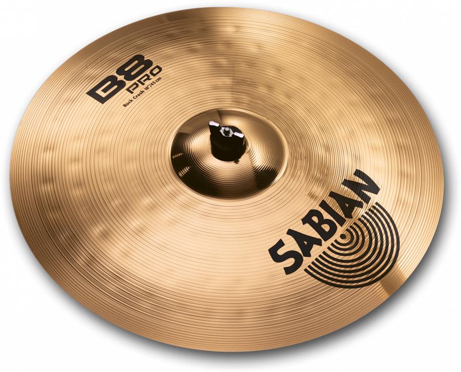 """Sabian B8 PRO ROCK CRASH 18""""(MediumHeavy) B8P-18RC-B セイビアン クラッシュシンバル 1枚限り"""