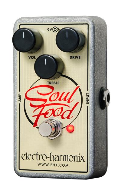 electro harmonix Soul Food Distortion Fuzz Overdrive