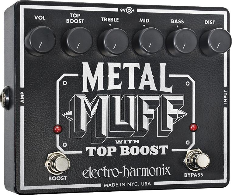 electro harmonix Metal Muff Distortion with Top Boost メタルマフ
