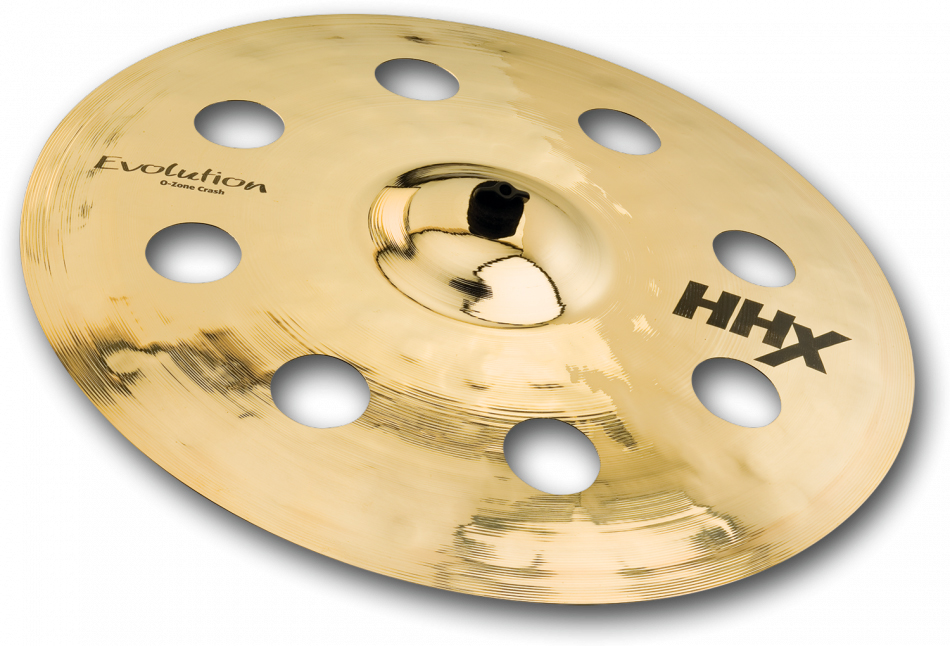 "Sabian HHX Evolution O-Zone Crash:HHX-16EVOC-B 16""Brilliant Finish セイビアン クラッシュシンバル"