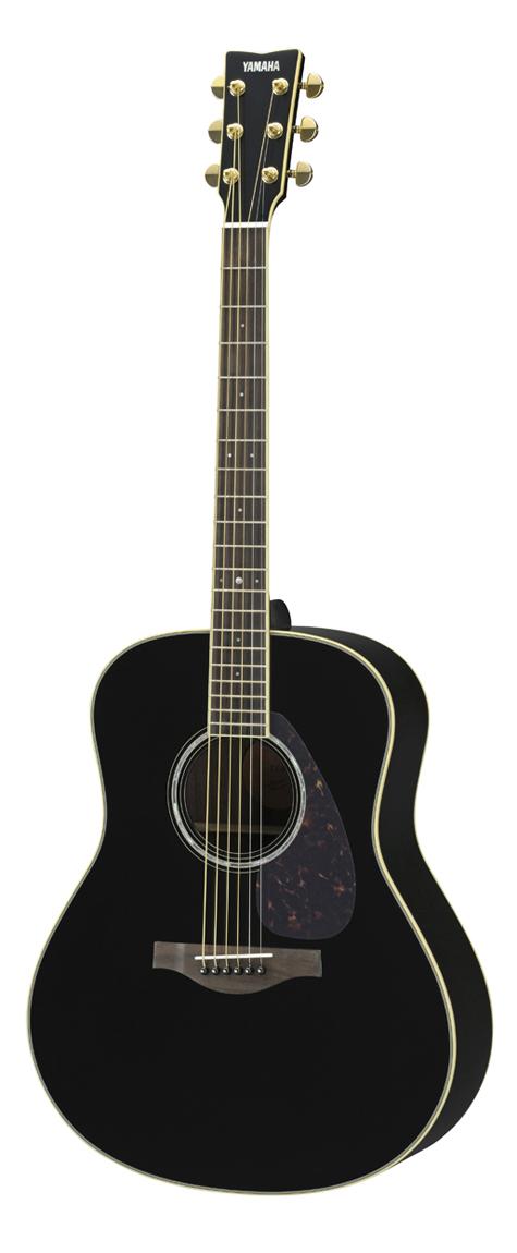 YAMAHA LL6 ARE BL:ブラック ヤマハ フォークギター