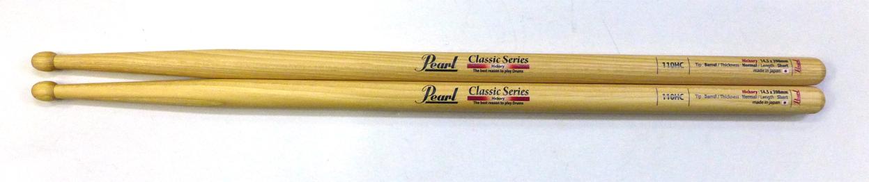 Pearl 110HC を 12set パール ドラムスティック ヒッコリー